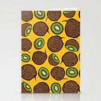 kiwi Stationery Cards featuring Kiwi by Nemki