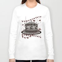 carousel Long Sleeve T-shirts featuring Carousel by AURA-HYSTERICA