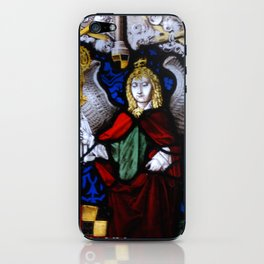 Angels in glass iPhone Skin