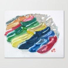 Zapatos de Flamenco Canvas Print