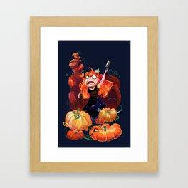 PUMPKIIINNNS Framed Art Print