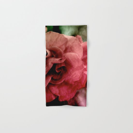 rose Hand & Bath Towel