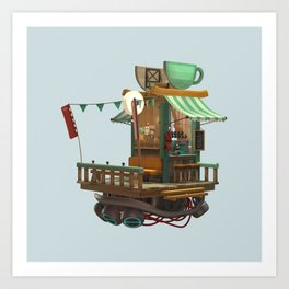 Coffee Shop Art Print