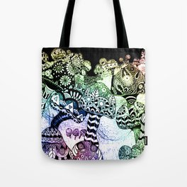 Mushroom Field Tote Bag