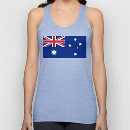 Australian flag, HQ image Unisex Tank Top
