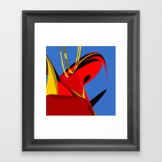 Depression Impressions Framed Art Print