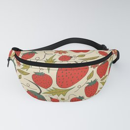 The Strawberry and the Ladybug Fanny Pack