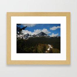 Bright Hill Framed Art Print