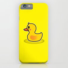 Cute Duck Swimming Cartoon iPhone 6s Slim Case