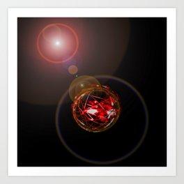 Magical Light and Energy 3 Art Print