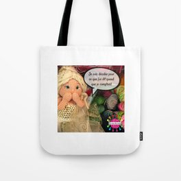 Lou s'excuse! Tote Bag