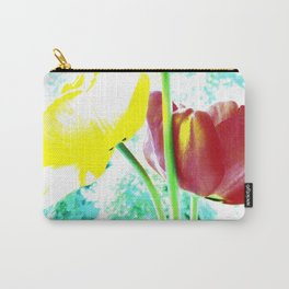 Abstract Of Spring Carry-All Pouch