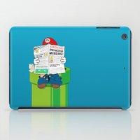 super mario iPad Cases featuring Mario by Altay