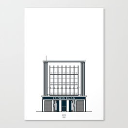 Edificio Pasaje Zingg Canvas Print