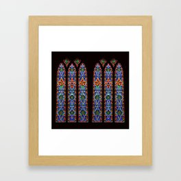 Mary's Mountain Windows Framed Art Print