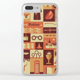 All character Harry.potter Clear iPhone Case