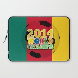 2014 World Champs Ball - Cameroon Laptop Sleeve