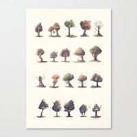 the neighbourhood Canvas Prints featuring Neighbourhood by Sam Lyne