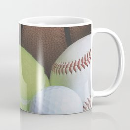 Sports Love Variety of Balls Coffee Mug