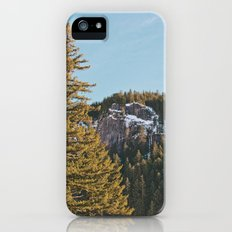 Trees in the Mountains Slim Case iPhone (5, 5s)
