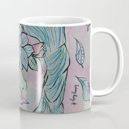 Flowered Coffee Mug