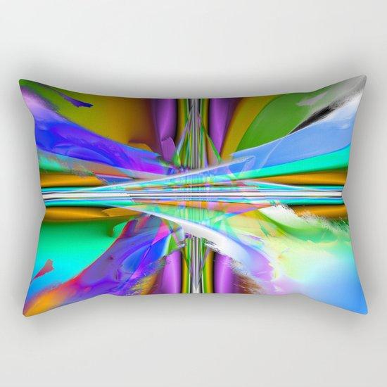 speed boat II Rectangular Pillow