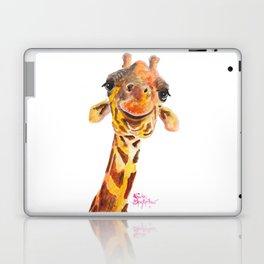 Nosey Giraffe ' Jo ' by Shirley MacArthur Laptop & iPad Skin