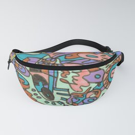 Tear My Heart Out (Orchid) Fanny Pack