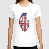 british flag T-shirts featuring British grenade by GrandeDuc
