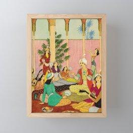 King Agib by Rudolf Koivu Framed Mini Art Print