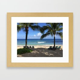 St. Croix Beach Framed Art Print