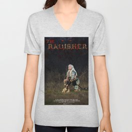 The Ravisher movie poster by Cameron Cox Unisex V-Neck