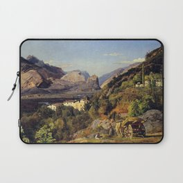Ferdinand Georg Waldmüller Mountains of Arco at Riva Laptop Sleeve