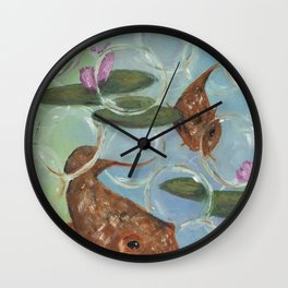 Bubbly Wall Clock