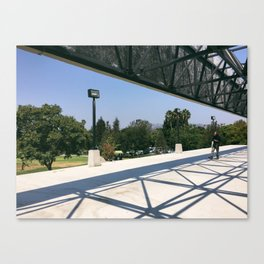 Los Angeles / Tar Pit Walk Canvas Print