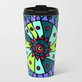 Cara Blue Travel Mug