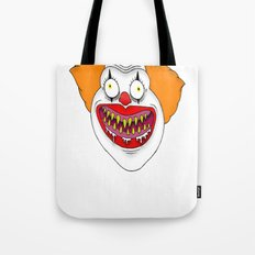 Cannibal Clown T-shirt Tote Bag