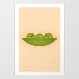Peas Art Print