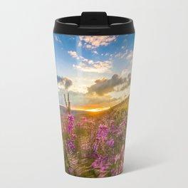 Heather Wicklow Mountains   Ireland Travel Mug