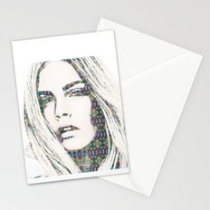 Cara Delevigne Stationery Cards