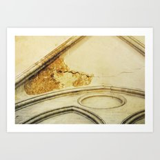 Bayeux Cathedral Art Print