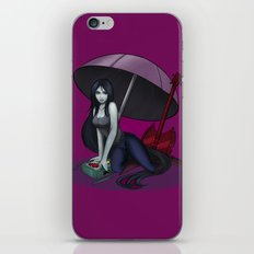 Marceline/Vampire time iPhone & iPod Skin