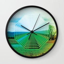 EU Road Trip Wall Clock