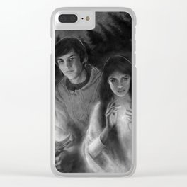 Richard and Kahlan Clear iPhone Case