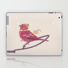 Winter Finch Laptop & iPad Skin