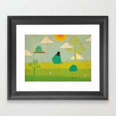LILLL Monsters Framed Art Print