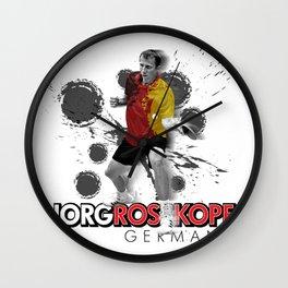 Jorg Rosskopf | Table Tennis Legend Wall Clock