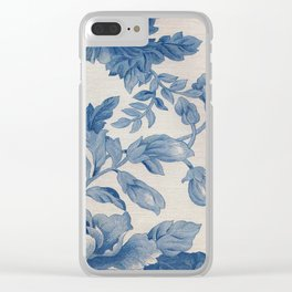 Floral V3 Clear iPhone Case