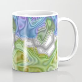Topography Digital Bayadere Stripe Coffee Mug