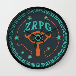 ZRPG.net Logo by Tab Wall Clock